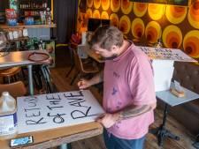 Ook Unmute-Us protest in Harderwijk tegen coronabeleid