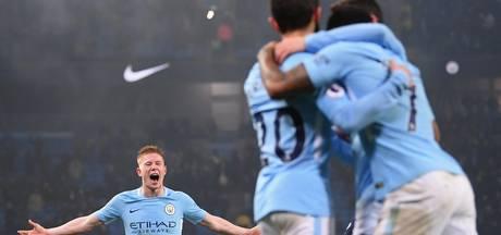 Er blijft geen maat staan op Manchester City