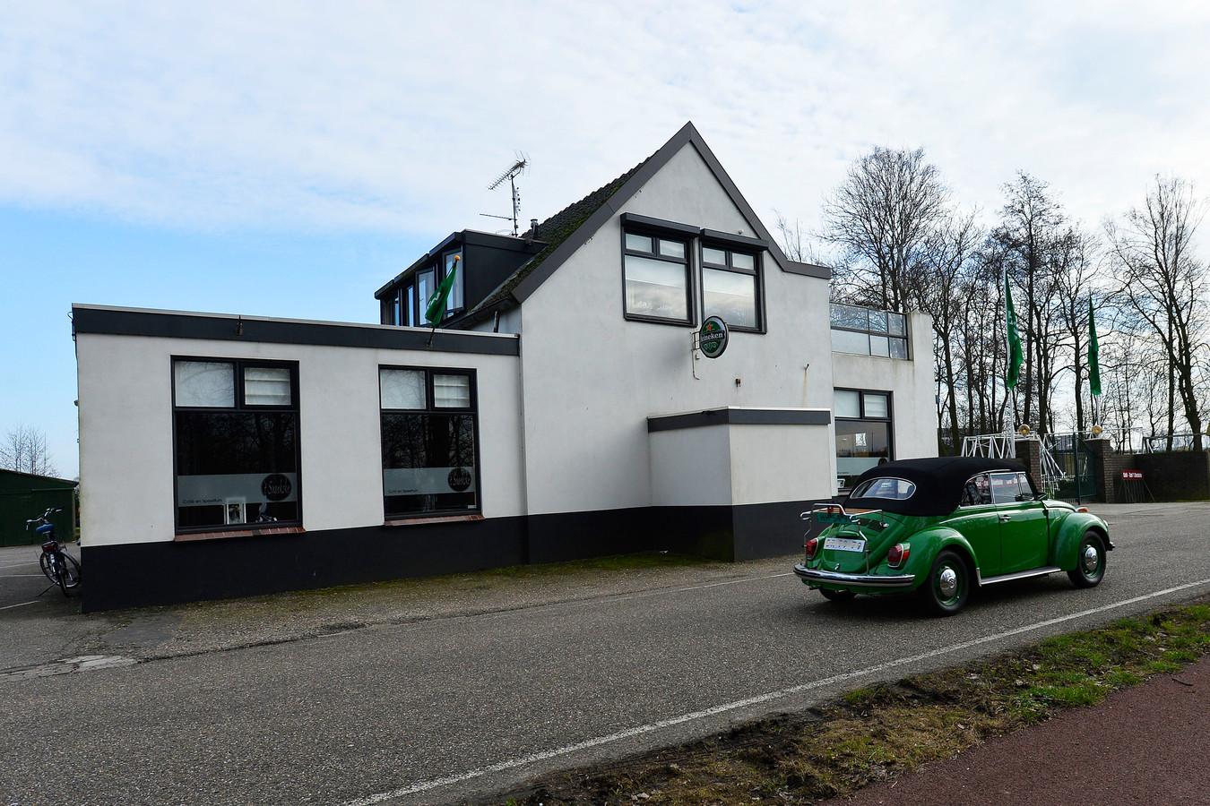 Café t Snoekske aan de Valkenvoortweg.
