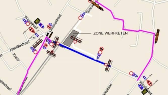 Herstellingswerken in spoorwegtunnel Waalstraat