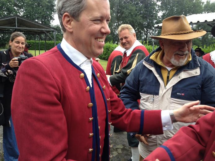 Arjan van den Hoven is de nieuwe koning van het gilde Sint Catharina en Barbara.