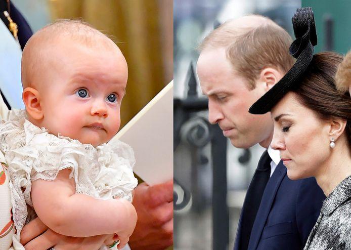 De Zweedse prins Julian en prins William en Kate.