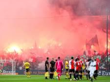 Feyenoord opnieuw beboet vanwege afsteken vuurwerk door fans