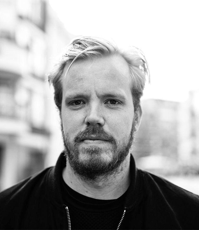 Gijs Boerwinkel is hoofd communicatie bij Waag en doet onderzoek naar de rol van technologie in de samenleving. Beeld