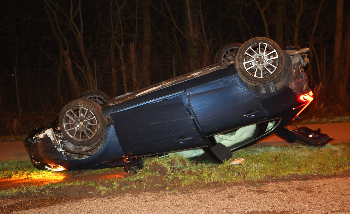 Ongeval Burgemeester Godschalxstraat Den Bosch.
