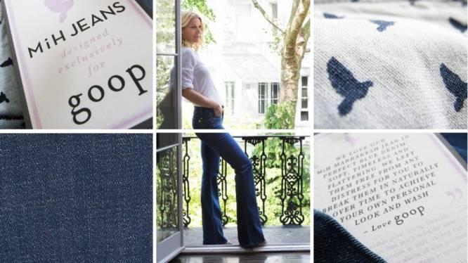 Gwyneth Paltrow verkoopt nu ook de 'perfecte' blauwe jeans