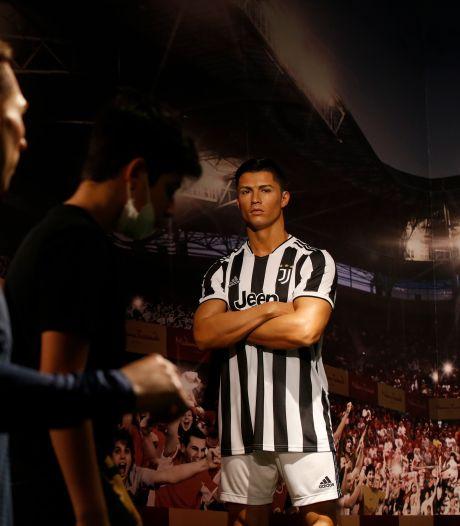 Wassen beeld van Ronaldo in verkeerd shirt zorgt voor beroering