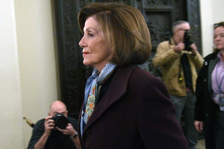 Nancy Pelosi. Beeld AFP