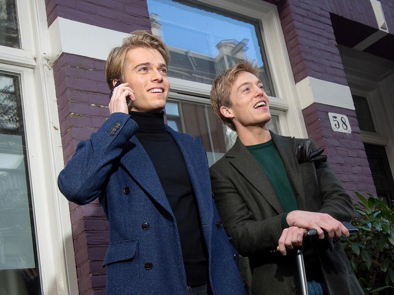 Lucas (rechts) en Arthur (links) Jussen