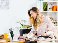 Snoozen tot vijf voor negen en in pyjama achter de laptop: thuiswerkers laten discipline varen