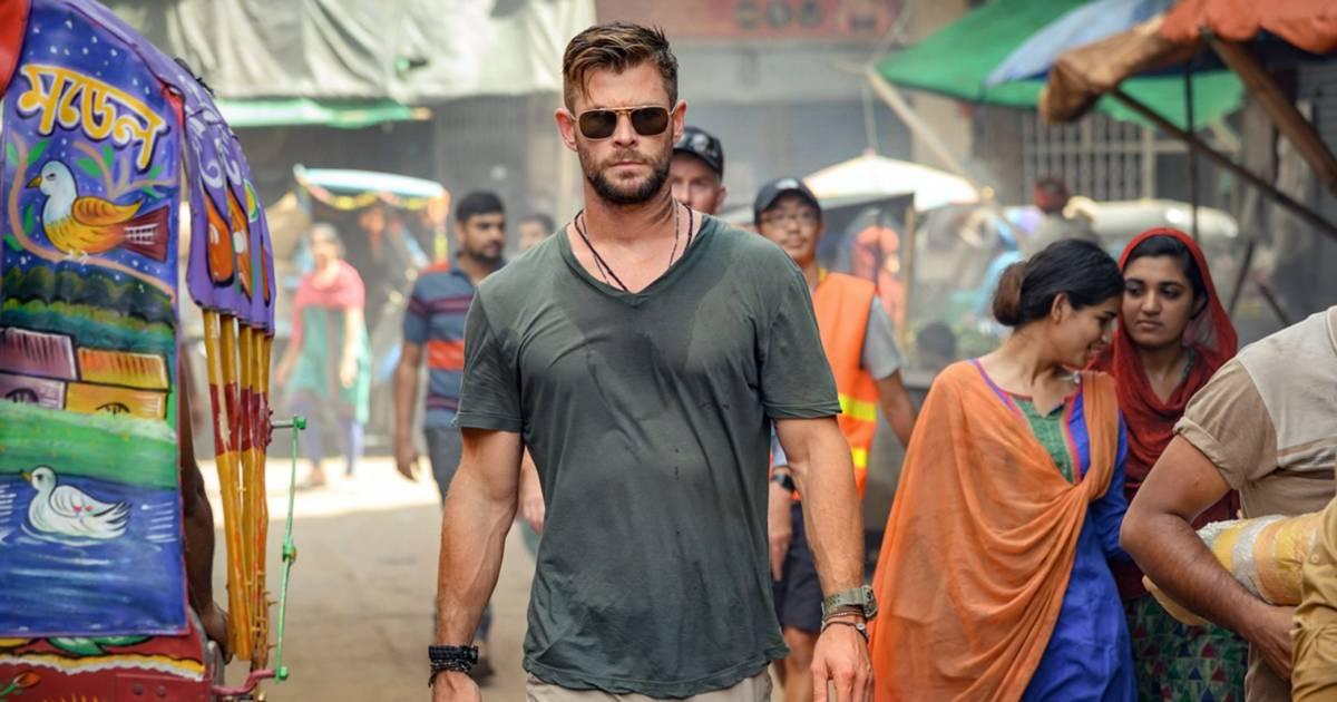 """""""Une vraie montagne"""": la doublure de Chris Hemsworth n'arrive plus à le suivre - 7sur7"""