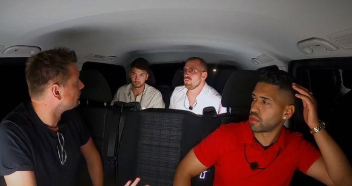 'Temptation Island: Love or Leave': de heren keren terug naar de villa.
