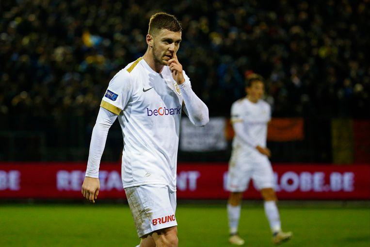 Bojan Nastic komt bij RC Genk niet aan spelen toe.
