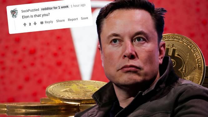 Bitcoin-stunt van Tesla lijkt maand geleden aangekondigd door mysterieuze Reddit-gebruiker