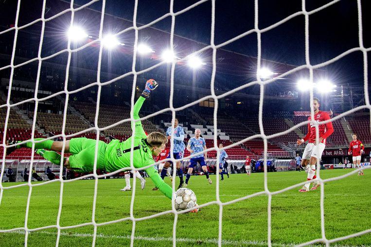 Davy Klaassen maakt de 0-2 na een voorzet op maat van Dusan Tadic. Beeld ANP