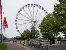 """Reuzenrad Steenplein draait weer: """"Het veiligste terras van België"""""""
