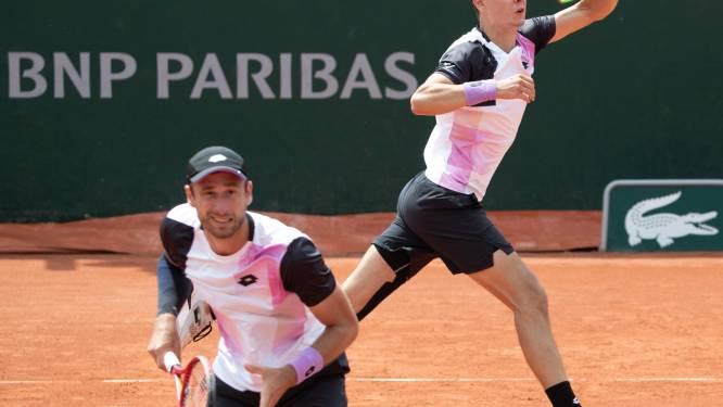 """Joran Vliegen en Sander Gillé starten goed op Roland Garros: """"Konden geen betere start wensen"""""""