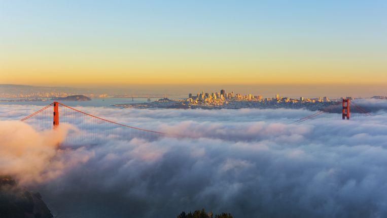 De Golden Gate-brug in San Francisco. Beeld thinkstock
