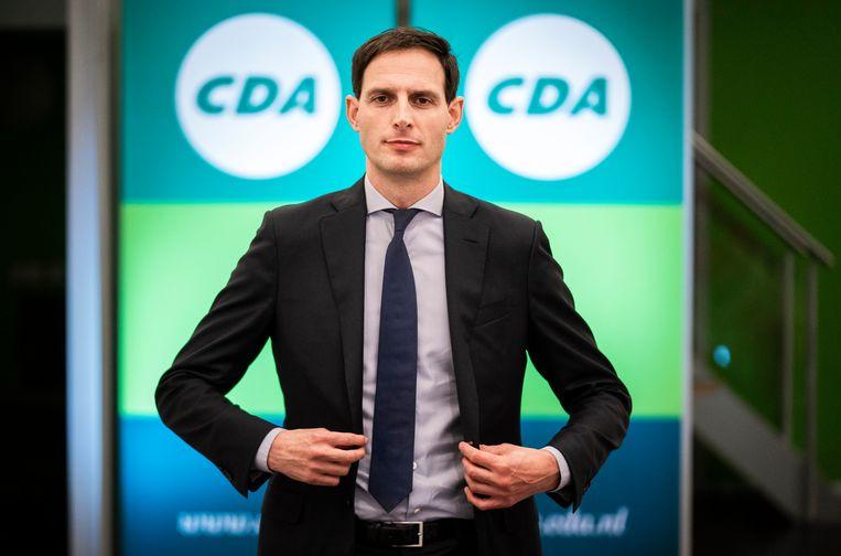 Wopke Hoekstra wordt zaterdag op het partijbureau gepresenteerd als nieuwe lijsttrekker van het CDA. Beeld Freek van den Bergh / de Volkskrant