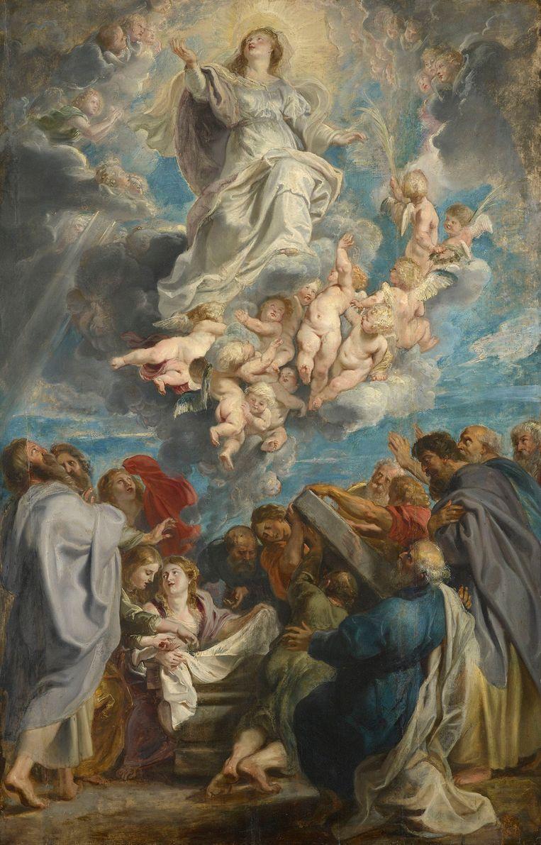 'Tenhemelopneming van Maria' (1611) van Peter Paul Rubens (1577-1640). Beeld Peter Paul Rubens