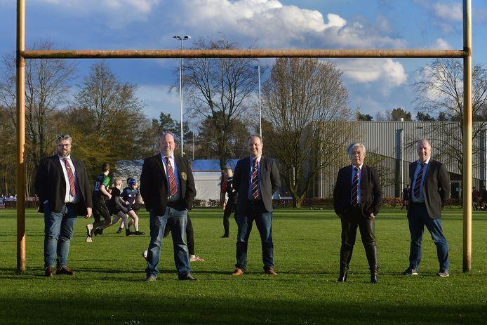 Voltallig nieuw bestuur bij rugbyclub Roosendaal