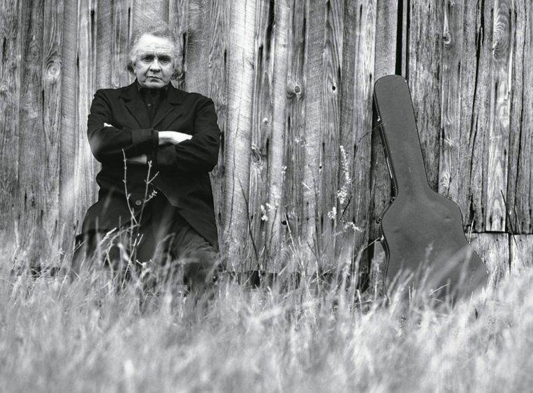 Johnny Cash was 71 en had niet lang meer te leven. 'Hurt' werd zijn zwanenzang. Beeld RV