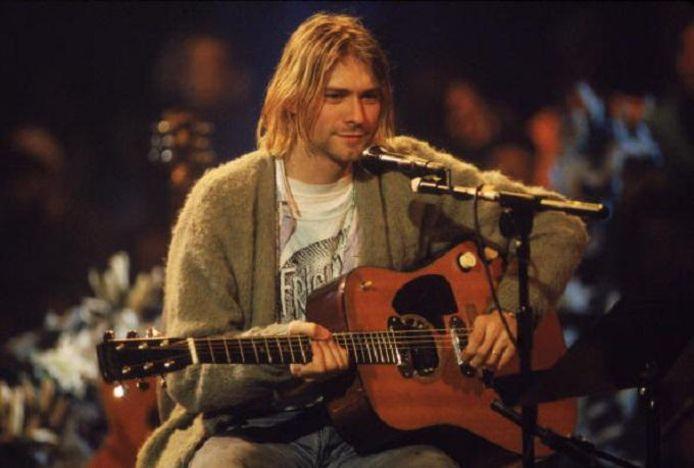 Frances Beans papa is deze Kurt Cobain. De legendarische frontman van Nirvana stierf in 1994.
