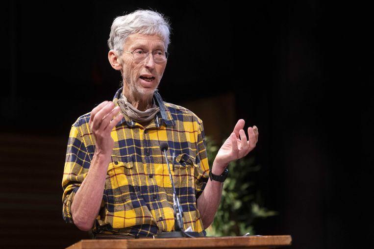 Scheikundige en milieuactivist Johan Vollenbroek is voorzitter van milieu-adviesbureau Mob, Mobilisation for the Environment. Beeld ANP