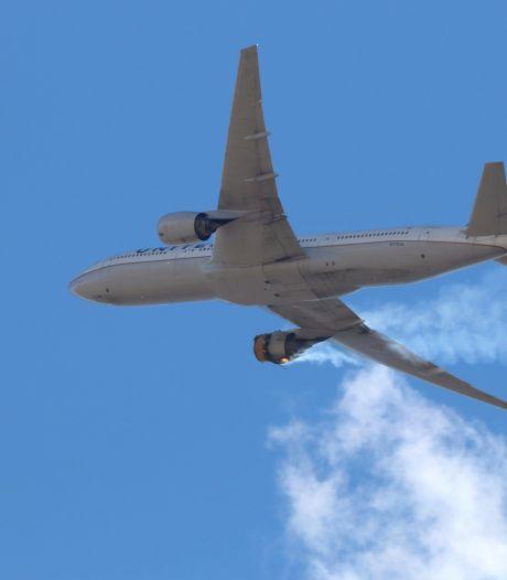 Boeing adviseert toestellen aan de grond te houden na brand in motor, FAA gelast inspectie