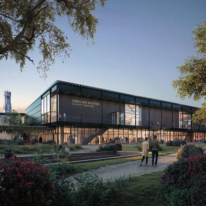 Zo moet het nieuwe museum BRUSK er straks uitzien.