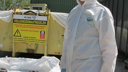 MIWA blijft asbesthoudende golfplaten ophalen aan huis