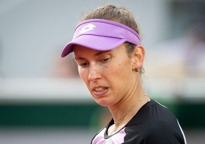 Deux éliminations en deux jours pour Elise Mertens à Paris.