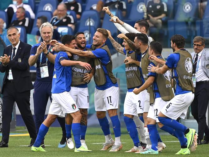 Ook Wales geen partij voor Italië: Squadra Azzurra is groepswinnaar en komt (zo goed als zeker) in tabelhelft van Rode Duivels terecht
