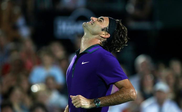 Roger Federer a dit être réjoui de collaborer avec son idole de jeunesse.