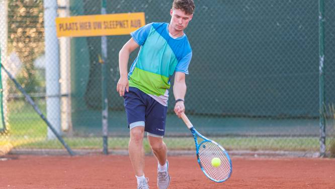 Meteen spektakel in Tennis Tour in Merelbeke