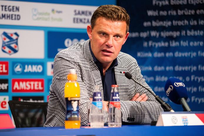"""John Stegeman zag een zorgwekkend optreden van PEC Zwolle in Heerenveen: ,,Wat wel te analyseren valt, is dat ik vandaag een heel matig PEC Zwolle heb gezien."""""""