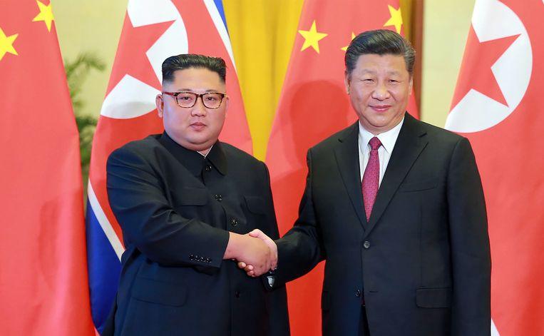 Kim Jong-un en Xi Jinping hebben elkaar eerder deze week opnieuw ontmoet.