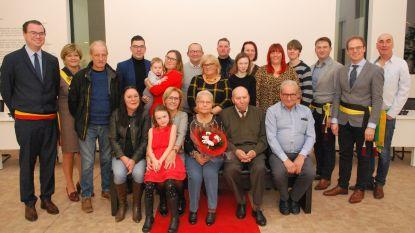 Hubert en Georgette vieren briljanten jubileum