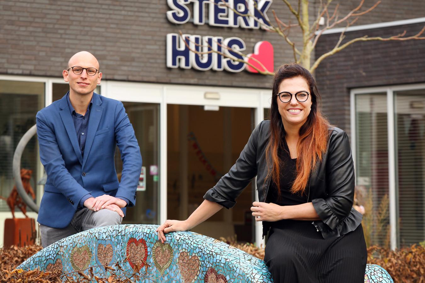 Teun Haans en Ilona Brekelmans zijn deskundigen op het gebied van huiselijk geweld. Zij werken bij Sterk Huis.