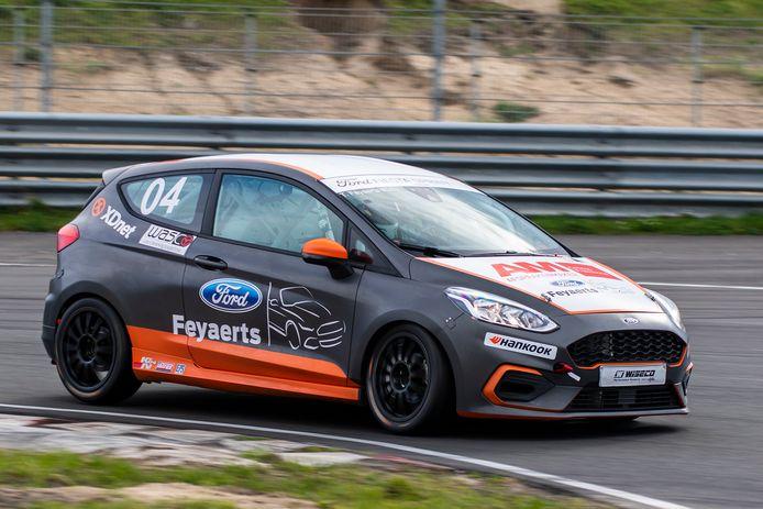 De Fiesta van teameigenaar Tom Feyaerts.