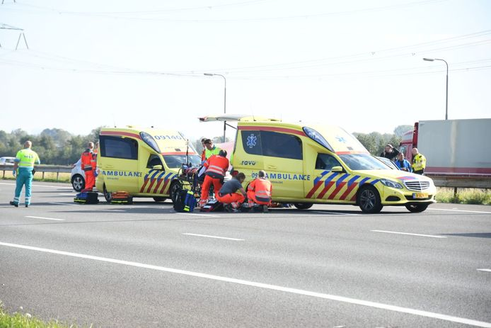 Ongeluk A12 Woerden