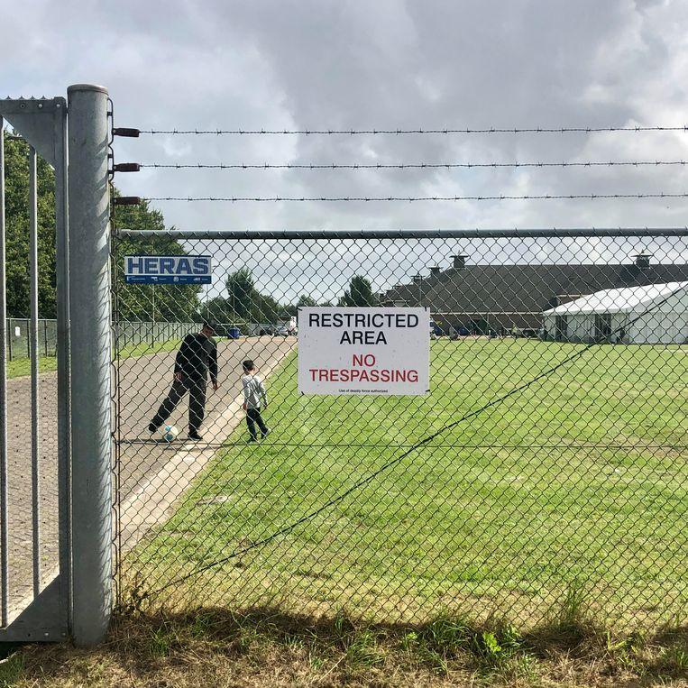 Noodopvang in Zoutkamp. Beeld Toine Heijmans
