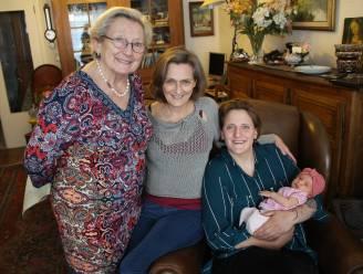 Twee viergeslachten in de familie dankzij Juliette