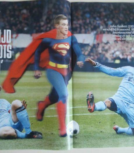 Guidetti als Superman: Ik heb geen tijd om trots te zijn