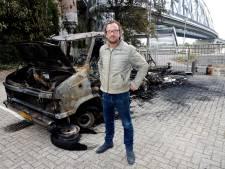 Eigenaar uitgebrande camper vraagt om camerabeelden: 'Het is triest, ik heb er veel reisjes mee gemaakt'