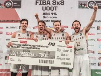 3x3 Lions kwalificeren zich voor de Olympische Spelen: België pakt in Debrecen laatste ticket