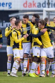 Jong Vitesse sluit 2018 vrolijk af bij oude club van trainer Oosting