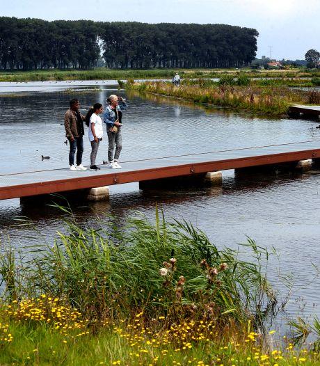In de polder bij Dordt is een 'Biesbosch-baby' met prachtige wandelpaden geboren