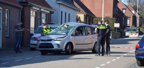 Ravage in Calfven nadat automobilist macht over stuur verliest