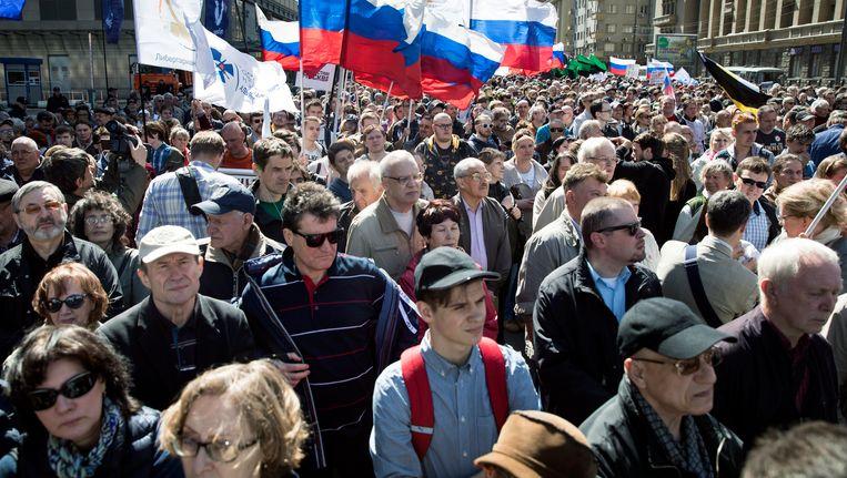 Volgens het ministerie van Binnenlandse Zaken namen duizend mensen deel aan de mars. Onafhankelijke waarnemers spreken van 3.000 deelnemers.